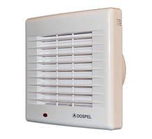 Вентилятор вытяжной с жалюзи бытовой осевой Dospel POLO 4 100 AZ 007-0055