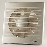 Вытяжной вентилятор с датчиком влажности и таймером бытовой осевой Dospel STYL 150 WCH 007-0335