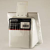 Решетка вентиляционная пластиковая Dospel KRD 100 S 007-0201