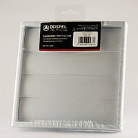 Решетка вентиляционная пластиковая Dospel KRZ 150 007-0183