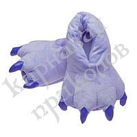Тапочки кигуруми (фиолетовые) L