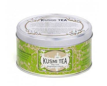 Зеленый Чай Имбирь-Лимон банка 125г