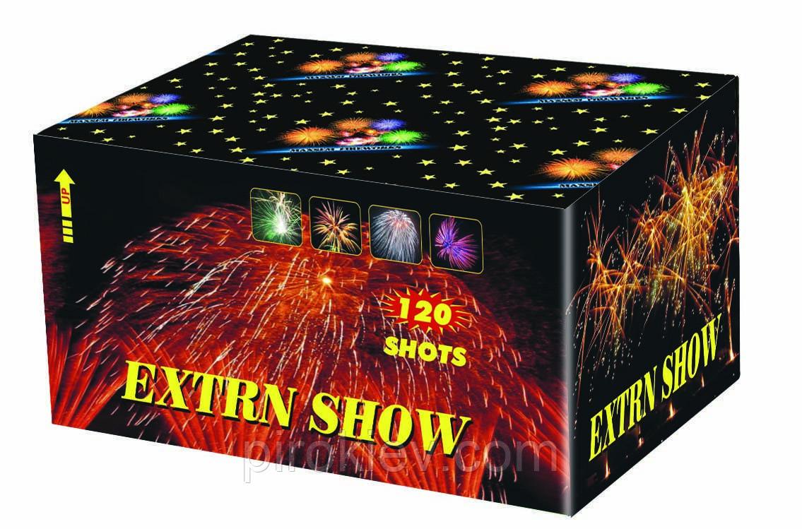Extrn show SB120-01 фейерверк на 120 выстрелов