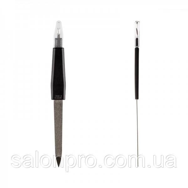 Пилка для ногтей Solingen №k-18 с триммером для удаления кутикулы