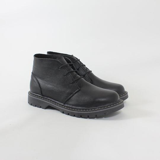 Кожаные зимние ботинки на меху (шерсть) унисекс от UNCIA SHOES - Интернет-магазин UNCIA в Чернигове