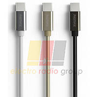 Кабель Remax  Emperor Cable For Type-c RC-054a, Gold, Black, длина 1,0 м,Color BOX
