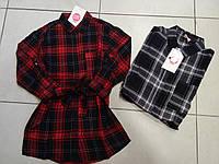 Рубашка-туника для девочки.  Размеры: 98,116