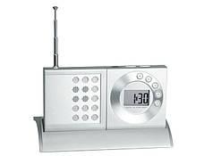 Часы с радиоприемником на подставке 32000-CRA