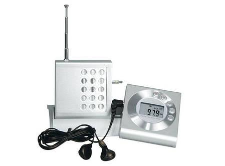 Часы с радиоприемником на подставке 32000-CRA, фото 2