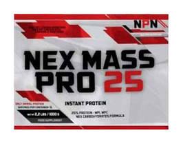 Гейнера NPN Nex Mass Pro 25 Пробники 60 г
