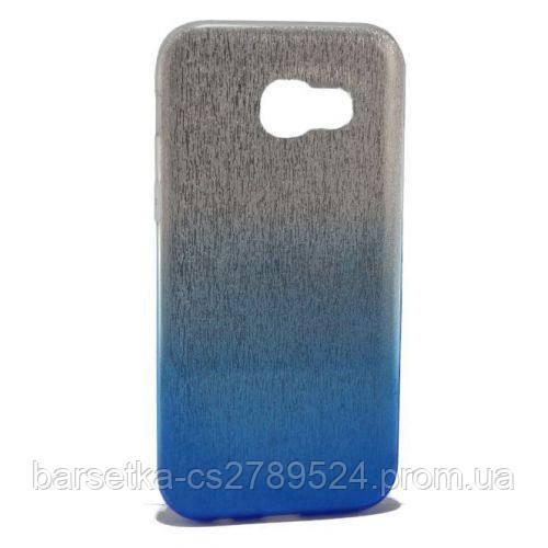 Чехол-накладка 3in1 для Samsung Galaxy A5 2017 (A520), синий