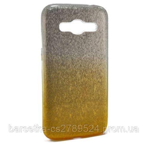 Чехол-накладка 3in1 для Samsung Galaxy J2 2016 (J210), желтый