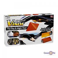 ТОП ВЫБОР! Антибликовый солнцезащитный козырек для автомобиля Клир Вью HD Vision Visor 1001005 защитный козырек для зеркал автомобиля, козырек для