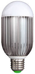 Лампа светодиодная e.save.LED.А60E.E27.10.4200 тип шар, 10Вт, 4200К, Е27 (ал)