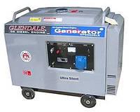 Дизель генератор DP6500L-SLE/1 c автозапуском