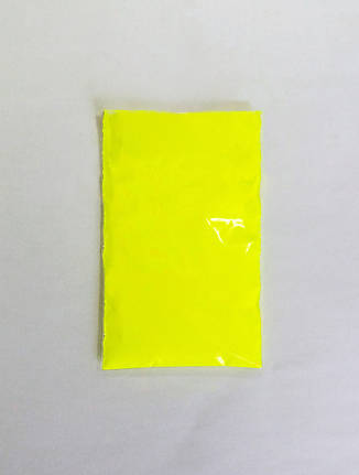 Флуоресцентный пигмент Желтый 10г, 20г, 50г, 100г, 1кг, фото 2