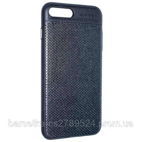 Чехол-накладка Easybear Leather для Apple iPhone 7 Plus Черный
