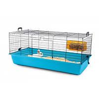 Клетка Savic Titus (Титус) для кроликов синяя, 55х39х26 см
