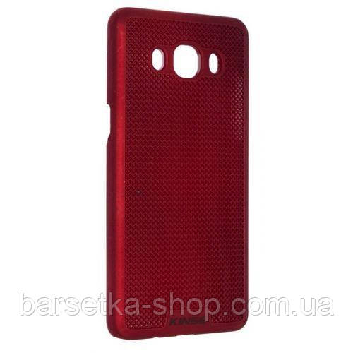 Чехол-накладка Kinse для Samsung J5 2016 (J510), красный