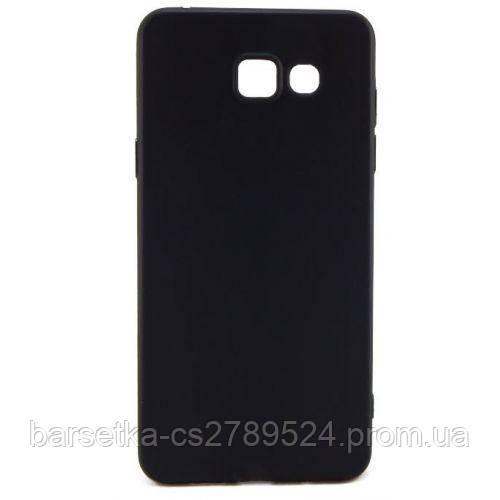 Чехол-накладка Matte для Samsung Galaxy A5 2016 (A510), черный