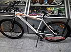 """Горный велосипед Crosser Faith 29 дюймов 19"""" бело-оранжевый, фото 2"""