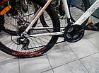 """Горный велосипед Crosser Faith 29 дюймов 19"""" бело-оранжевый, фото 5"""