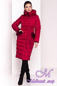 Женское теплое стеганное пальто (р. XS, S, M, L, XL) арт. Кассия 4219 - 21136