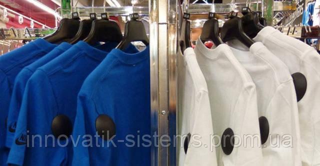 Антикражная бирка ракушка идеально подходит для защиты одежды от краж из магазина.