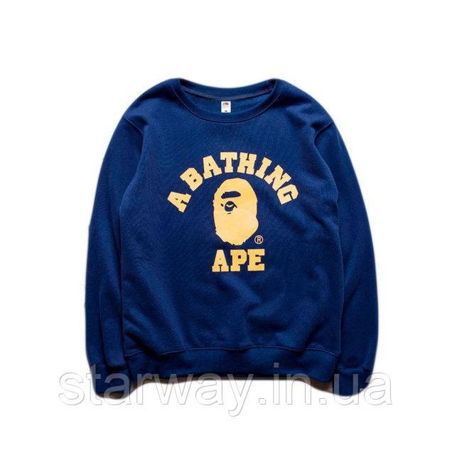 Свитшот A Bathing Ape logo | Кофта стильная