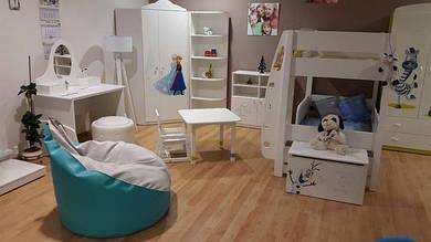 """Новинка на нашей выставке! Детская мебель серии """"Frozen"""" (Disney) от Meblik ждет встречи с Вами!"""