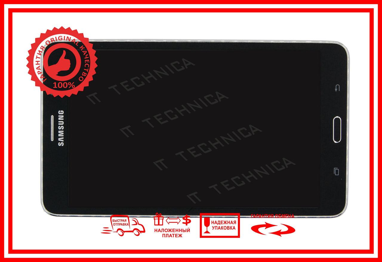 Тачскрин+матрица SAMSUNG SM-T230 Черный С РАМКОЙ