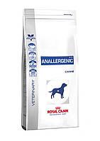 Royal Canin (Роял Канин) ANALLERGENIC 3кг - лечебный корм для собак при пищевой непереносимости или аллергии