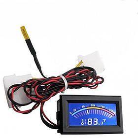 Цифровой термометр цветной со шкалой C/F