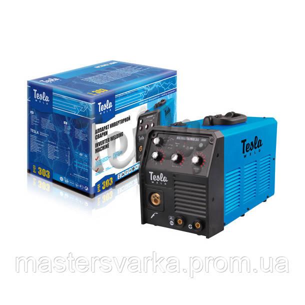 Сварочный инверторный полуавтомат TESLA MIG/MAG/TIG/MMA 303