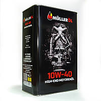 Моторное масло Mulleroil 10w40 4л SM/CF MB 229.3 VW 502/505