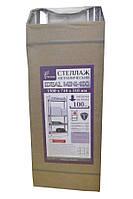 Стеллаж оцинкованный Ferocon IDEAL Mini-100, 710х1500х310, 4 полки, 9 кг
