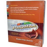 Promax Nutrition, Энергетические батончики со вкусом брауни с помадкой, 12 шт. по 75г каждый