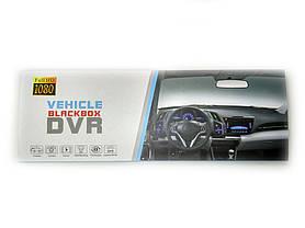 Зеркало заднего вида с видеорегистратором DVR MHZ T605 HD c 2 камерами, фото 3