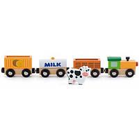 Viga Toys Игровой набор Viga Toys Дополнительный набор к ж/д Поезд-ферма (50821)