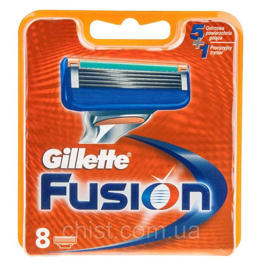 Gillette Fusion сменные кассеты (8 шт)