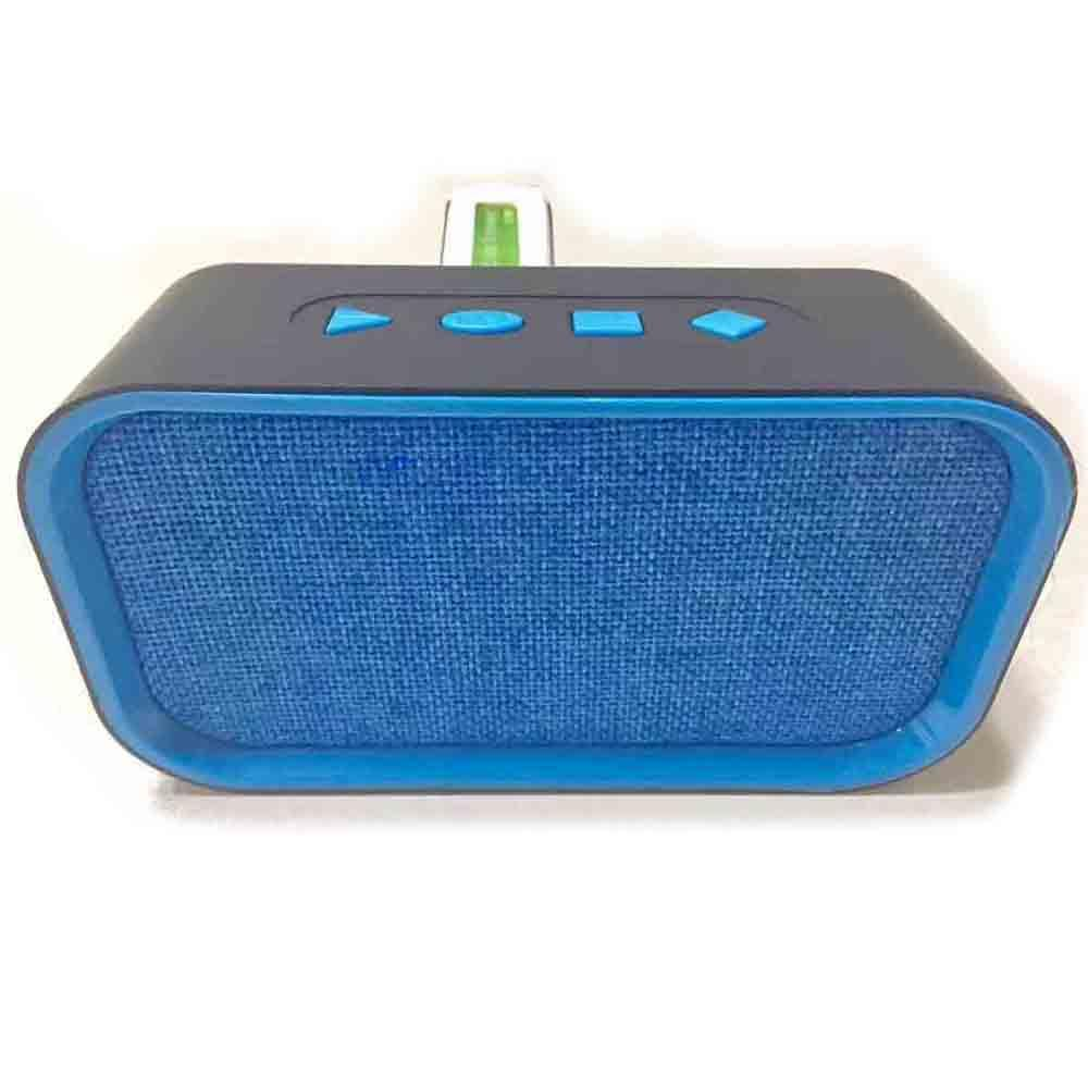 Портативная bluetooth колонка MP3 плеер H-B18 BT Blue