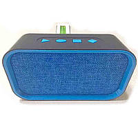 Портативная bluetooth колонка MP3 плеер H-B18 BT Blue, фото 1