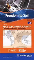 Карта MAX C-Map NT (Средиземное и Черное море) для Northstar