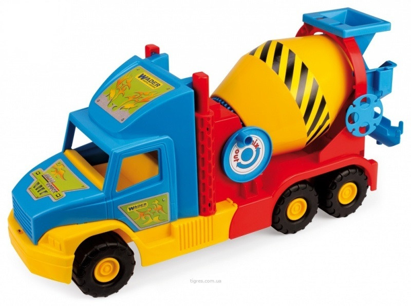 "Машина ""Super Truck"" бетономешалка малая"
