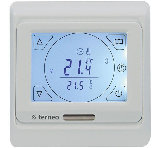 Программируемый терморегулятор Terneo SEN с сенсорным дисплеем