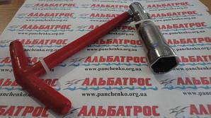 .Свечной ключ Т-образный. Свечной ключ с головкой 16 мм