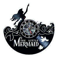 Настенные часы из виниловых пластинок LikeMark Mermaid