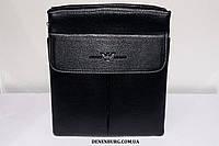 Сумка мужская ARMANI 826-3 чёрная, фото 1