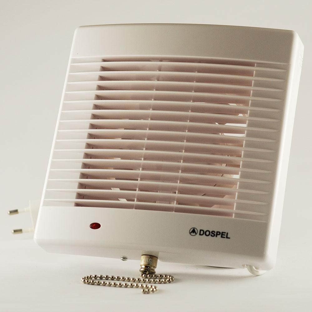 Вентилятор вытяжной бытовой осевой Dospel POLO 4 100 WP 007-0056
