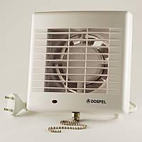 Вентилятор вытяжной с жалюзи бытовой осевой Dospel POLO 4 100 AZ WP 007-0057